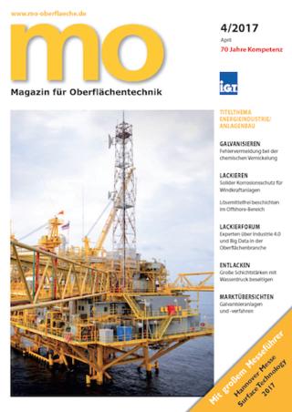 mo Magazin für Oberflächentechnik