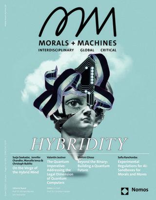 Morals & Machines - Interdisciplinary Global Critical