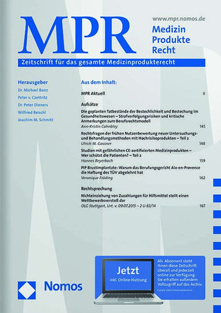 MPR MedizinProdukteRecht