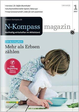 N-Kompass Magazin - Nachhaltig wirtschaften im Mittelstand