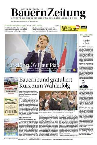 Österreichische Bauern Zeitung (Niederösterreich)