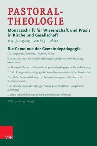 Pastoraltheologie mit Göttinger Predigtmeditationen