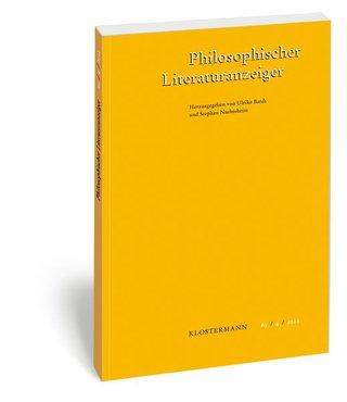 Philosophischer Literaturanzeiger