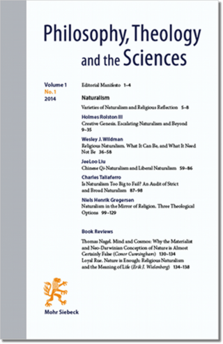 Philosophy, Theology and the Sciences (PTSc)