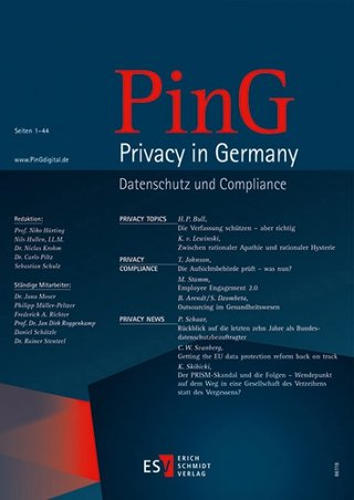 PinG Privacy in Germany