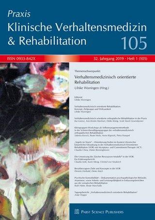 Praxis Klinische Verhaltensmedizin & Rehabilitation