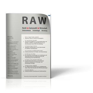 Recht Automobil Wirtschaft (RAW)
