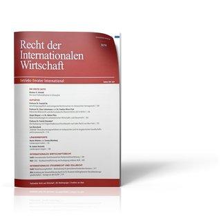 Recht der Internationalen Wirtschaft (RIW)