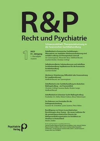 Recht & Psychiatrie