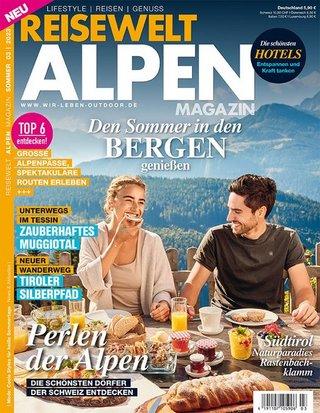 Reisewelt Alpen Magazin
