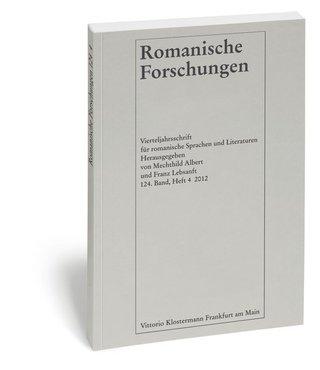 Romanische Forschungen
