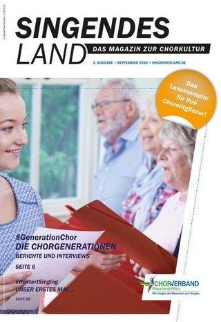 Singendes Land - Das Magazin zur Chorkultur in Rheinland-Pfalz
