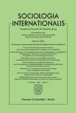 Sociologica Internationalis