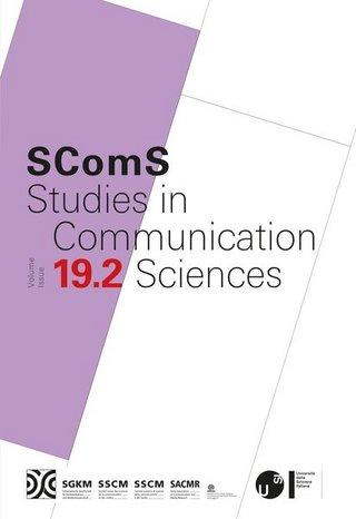 Studies in Communication Sciences