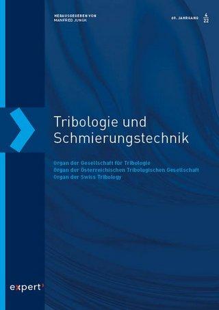 Tribologie und Schmierungstechnik