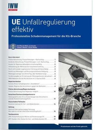 UE Unfallregulierung effektiv