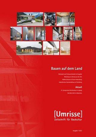 Umrisse - Zeitschrift für Baukultur