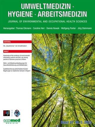 Umweltmedizin - Hygiene - Arbeitsmedizin