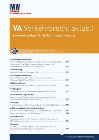 VA Verkehrsrecht aktuell