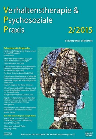 Verhaltenstherapie & psychosoziale Praxis - VPP