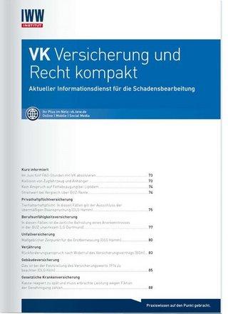 VK Versicherung und Recht kompakt