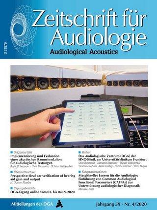 Zeitschrift für Audiologie/Audiological Acoustics