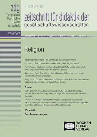 Zeitschrift für Didaktik der Gesellschaftswissenschaften (zdg)