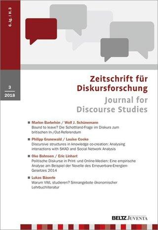 Zeitschrift für Diskursforschung