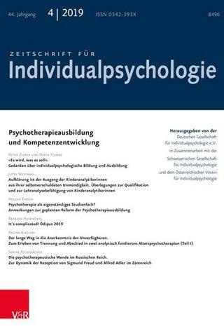 Zeitschrift für Individualpsychologie