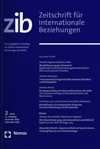 Zeitschrift für Internationale Beziehungen