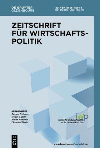 Zeitschrift für Wirtschaftspolitik