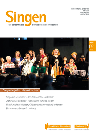 Zeitschrift SINGEN