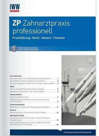 ZP Zahnarztpraxis professionell