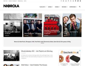 NICOROLA | Das Musikblog zwischen Indie und Electronica.