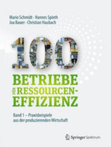 eBook 100 Betriebe für Ressourceneffizienz - Band 1 Cover
