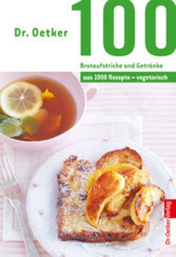 eBook 100 Brotaufstriche und Getränke Cover