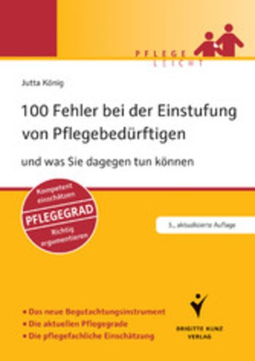 eBook 100 Fehler bei der Einstufung von Pflegebedürftigen Cover