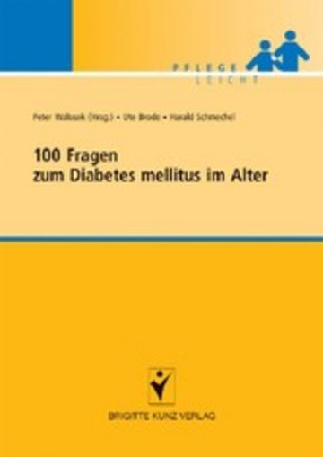 eBook 100 Fragen zum Diabetes mellitus im Alter Cover