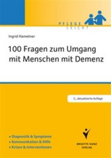 eBook 100 Fragen zum Umgang mit Menschen mit Demenz Cover