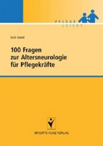 eBook 100 Fragen zur Altersneurologie für Pflegekräfte Cover