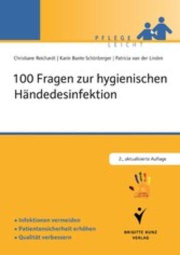 eBook 100 Fragen zur hygienischen Händedesinfektion Cover