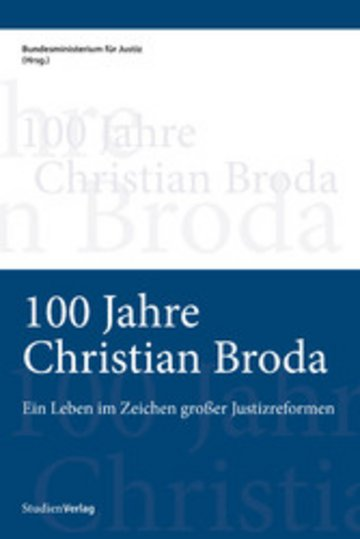 eBook 100 Jahre Christian Broda Cover