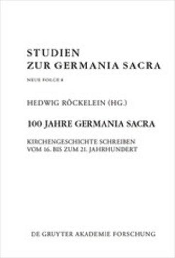 eBook 100 Jahre Germania Sacra Cover
