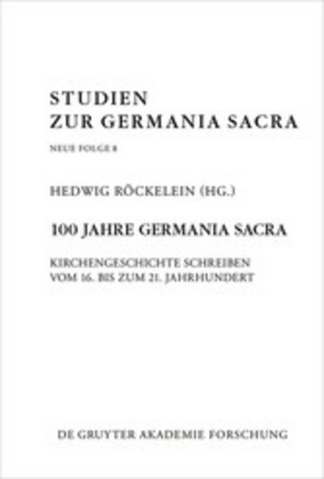 eBook 100 Jahre Germania Sacra Cover