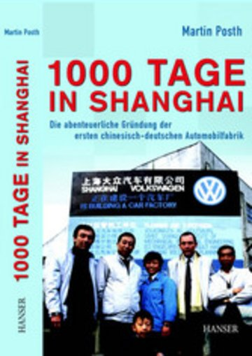 eBook 1000 Tage in Shanghai Cover