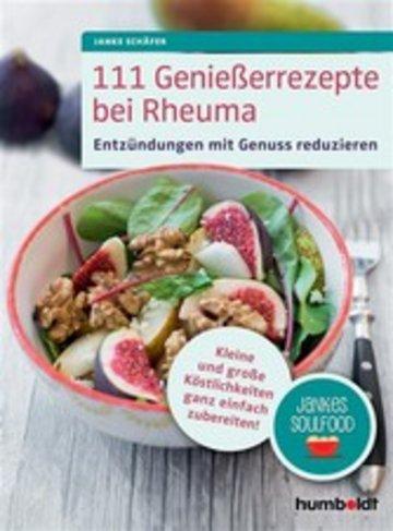 eBook 111 Genießerrezepte bei Rheuma Cover