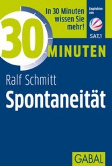 eBook 30 Minuten Spontaneität Cover
