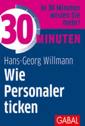 eBook 30 Minuten Wie Personaler ticken Cover