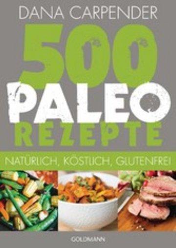 eBook 500 Paleo-Rezepte Cover