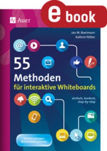 eBook 55 Methoden für interaktive Whiteboards Cover